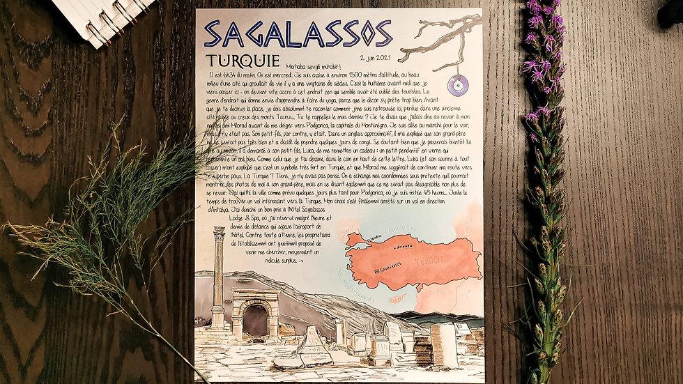 #004 - Sagalassos, Turquie