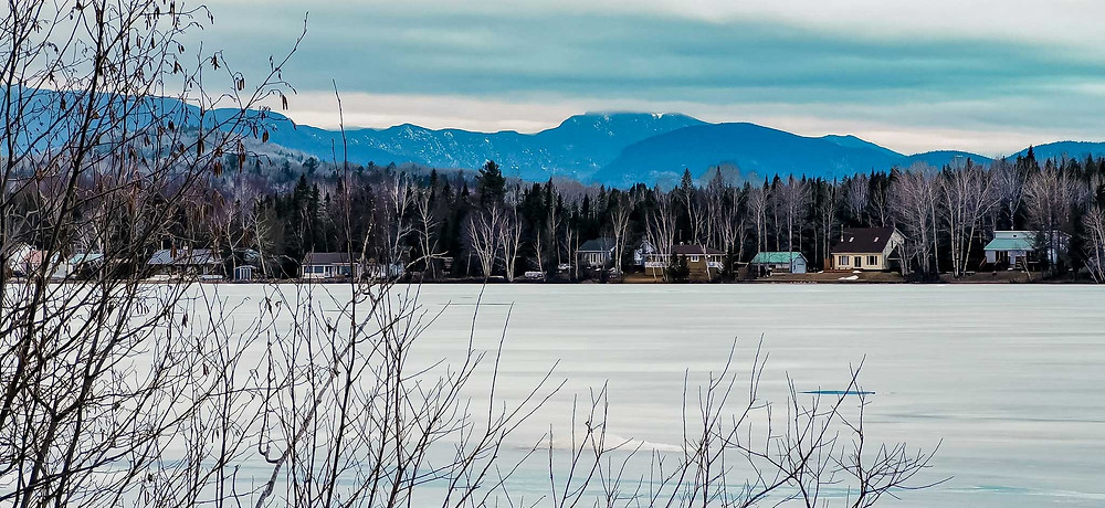 Lac Sainte-Marie à St-Aimé-des-Lacs, dans Charlevoix
