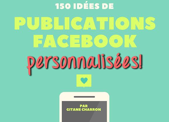 Guide de publications Facebook 2018-2019 *PERSONNALISÉ*