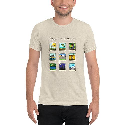 J'voyage dans mes souvenirs - t-shirt