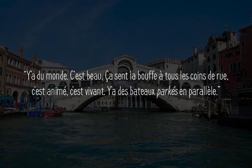 Venise blog voyage
