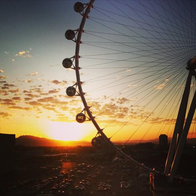 Vue sur le High Roller Las Vegas