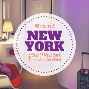 #PRESSTRIP - Mon avis sur le citizenM New York Times Square