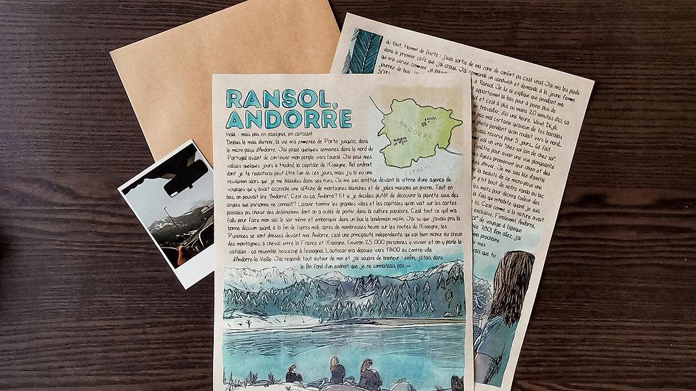 Lettre #002 - Ransol, Andorre