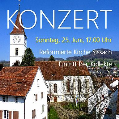 KONZERT - ref. Kirche Sissach