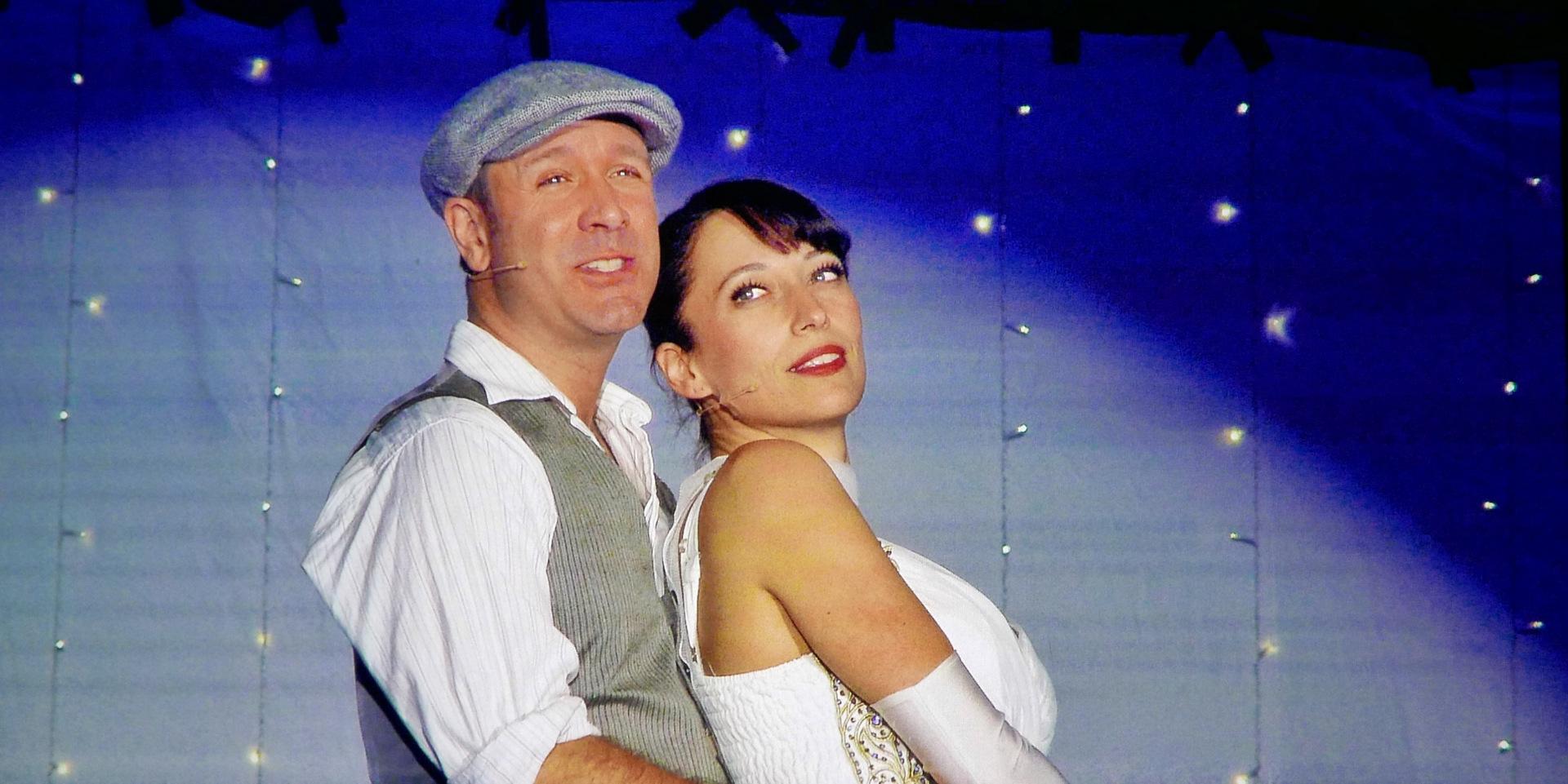 Martin Bacher und Raya Sarontino