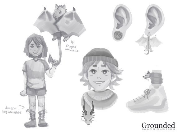 Grounded Concept Art