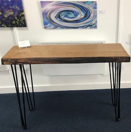 Chestnut Console Table