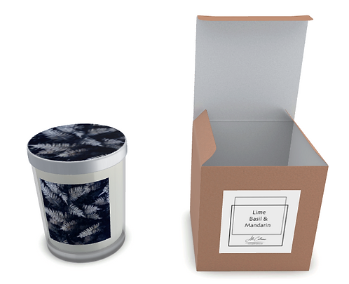Wilderness Blue Natural Soy Candle