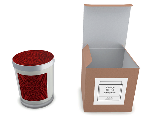 Ruby Red Natural Soy Candle