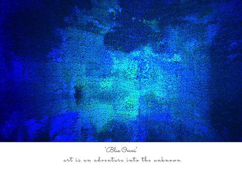 Blue Omni Postcard
