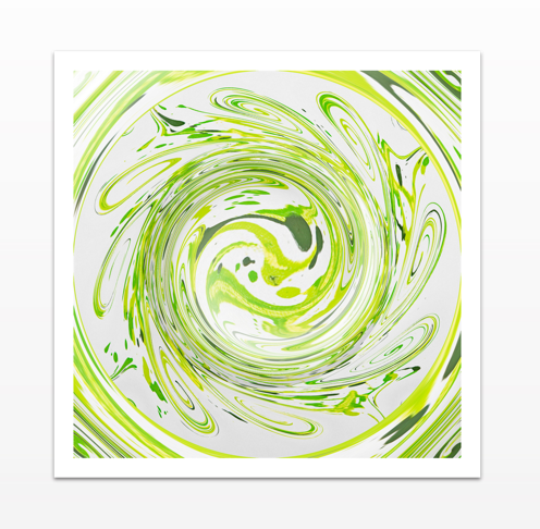 Curly Greens 2 - Canvas Print