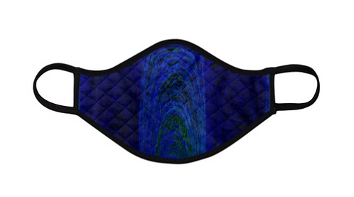 Blue Archways Facemask