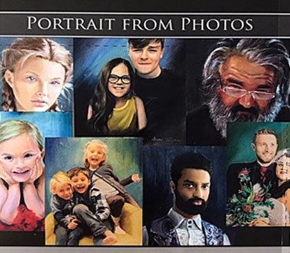 61 x 76cm Oil on Canvas Original Portrait