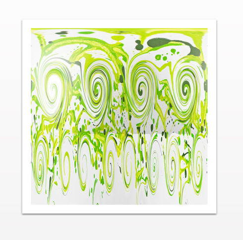 Curly Greens - Canvas Print