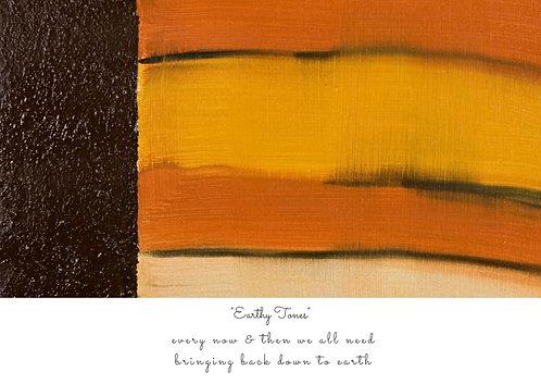 Earthy Tones Postcard