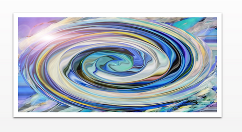 Drop in the Ocean - Metal Print