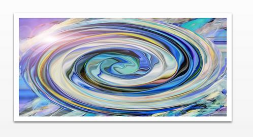 Drop in the Ocean - Acrylic Print