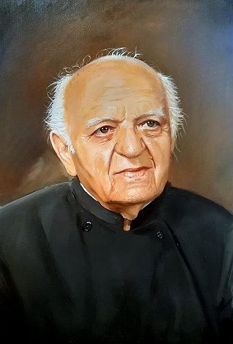 40.5 x 48cm Oil on Canvas Original Portrait