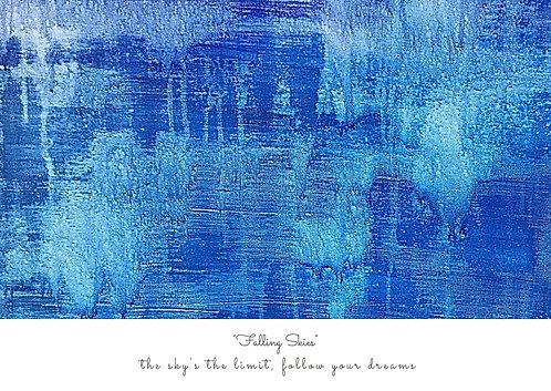 Falling Skies Postcard