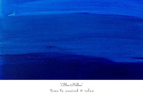Blue Mellow Postcard
