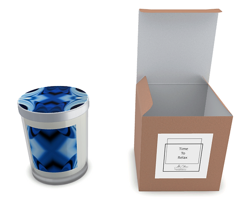 Blue Serenity Natural Soy Candle