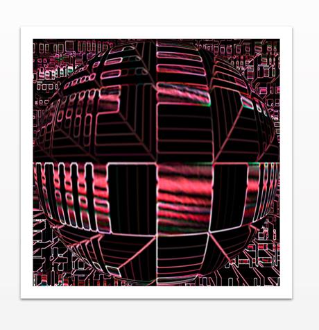 Digital 2 - Acrylic Print