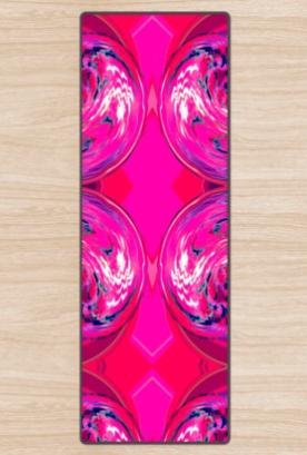 Hot Pink'ed 2 Pink Yoga Mat
