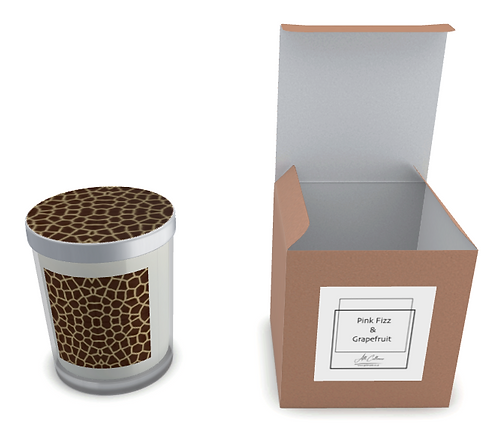 Giraffe Natural Soy Candle