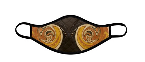 Circle of Browns Facemask