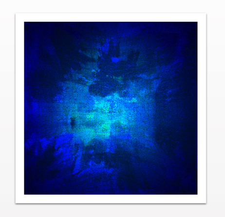 Blue Omni - Photo Paper Print