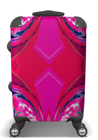 Hot Pink'ed Suitcase