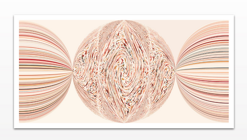 Spheres - Paper Print