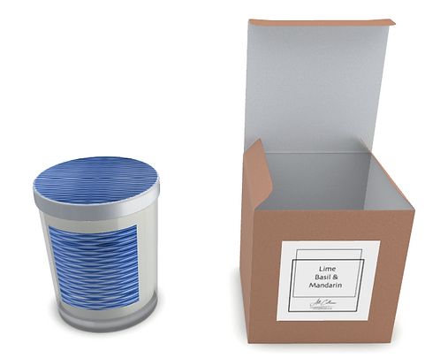 Graphix Cool Blue Natural Soy Candle