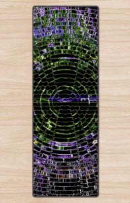 Timewarp Yoga Mat