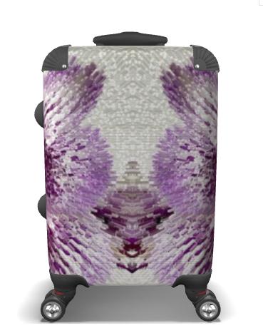 Orchid Suitcase