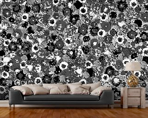 Craters Wall Mural