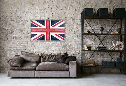 War Flag - Signed Limited Edition Giclee Fine Art Print
