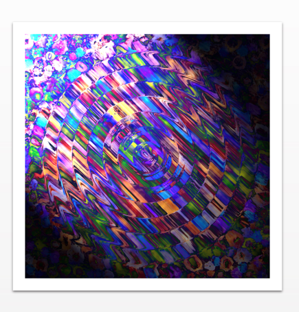 Comet of Colour - Metal Print