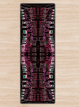 Digital 2 Yoga Mat