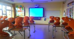 Klassenraum mit Active-Board