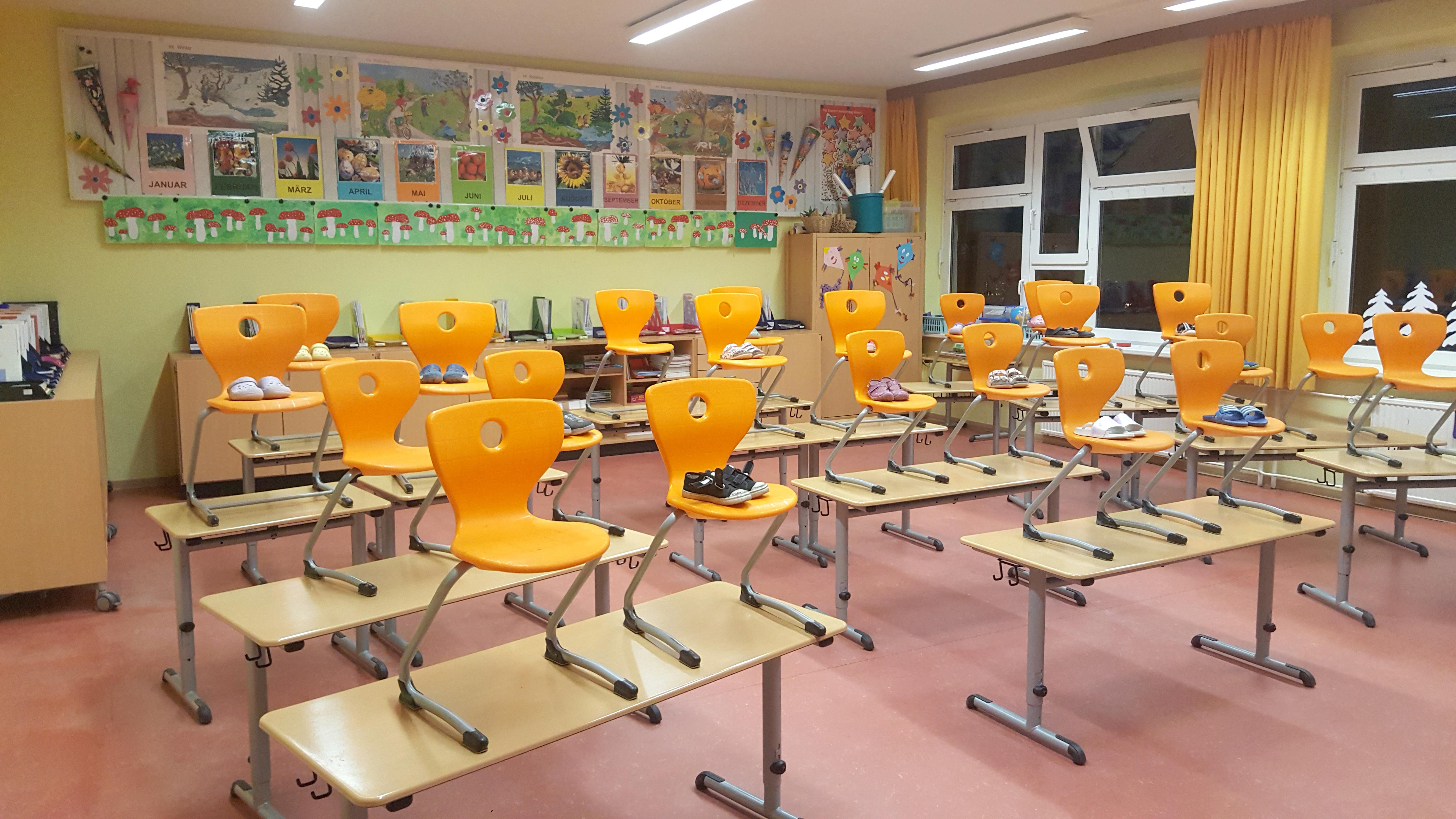 Klassenraum 1a