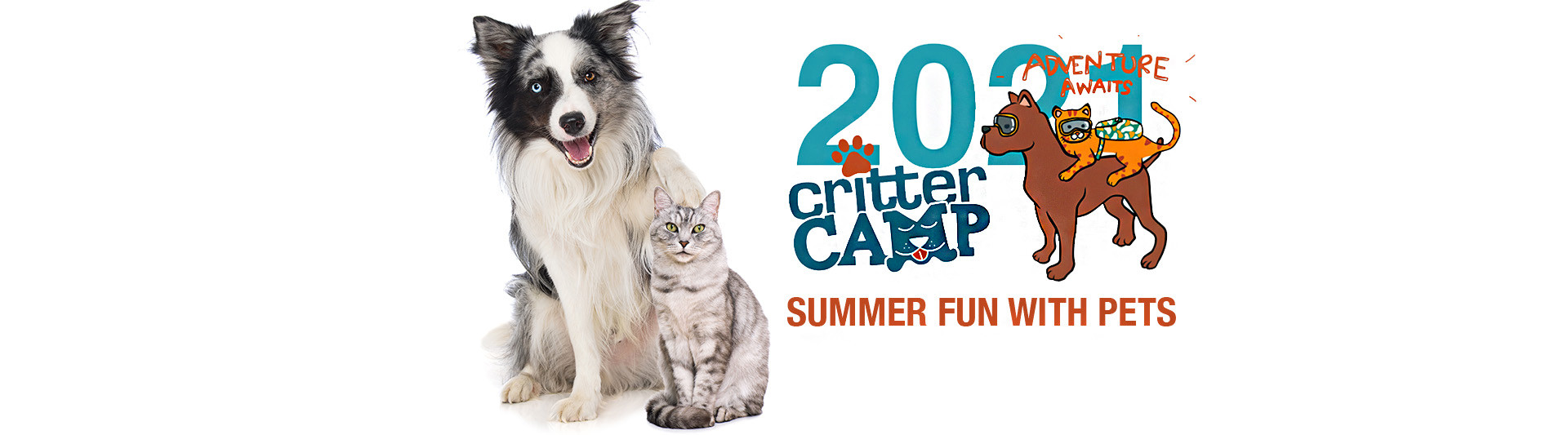 Critter Camp 2021 - summer camp with pets!