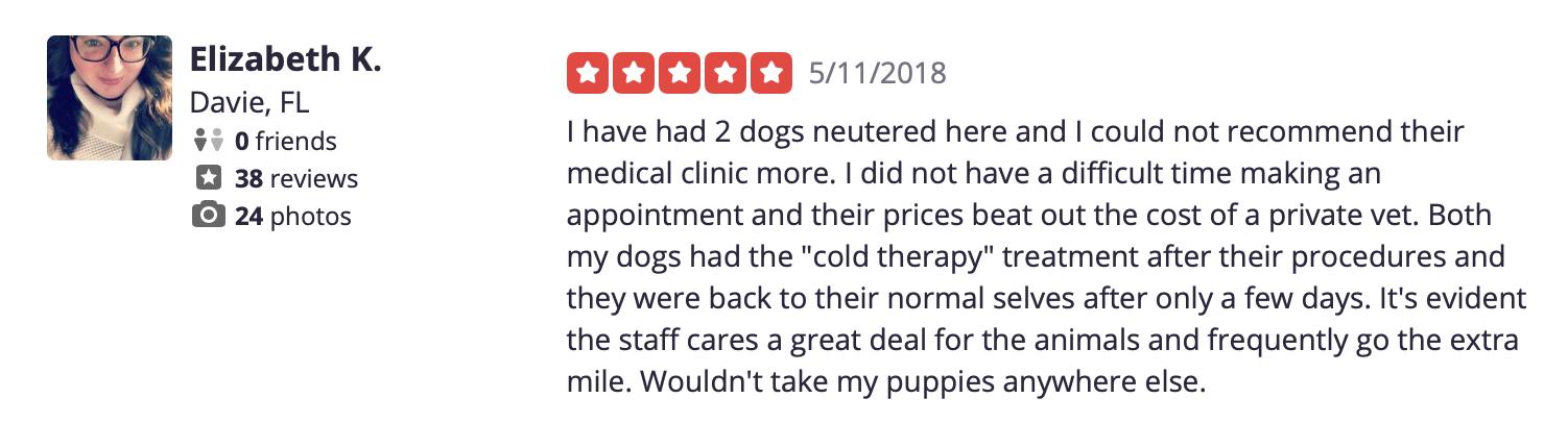 Review of SPCA Florida's Medical Center