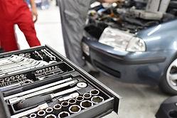 A garagem de mecânico