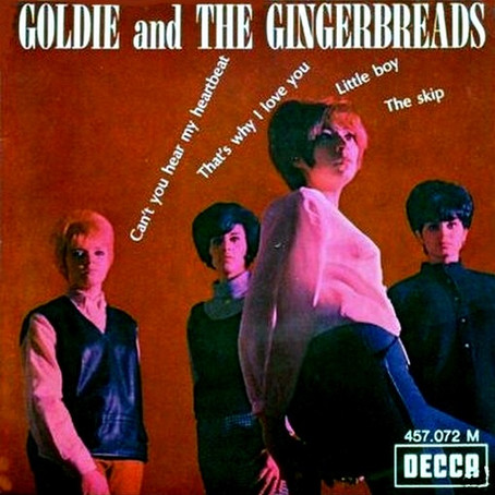 A New Album Release for Goldie & The Gingerbreads!