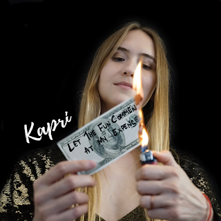 """KAPRI sings about the valuing money over everything in her new single """"Dollar $ong"""""""