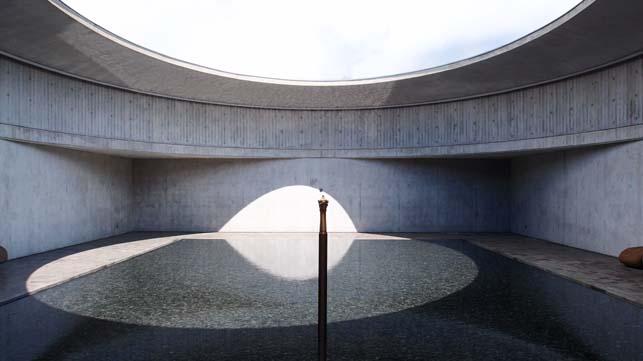 이타미 준의 물 박물관