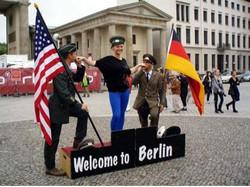 베를린 브란덴부르그 문과 파리광장