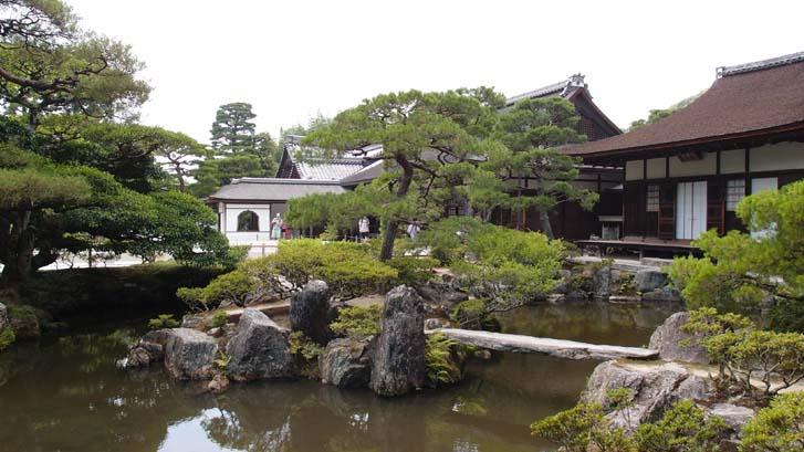 교토 은각사(긴카쿠지)